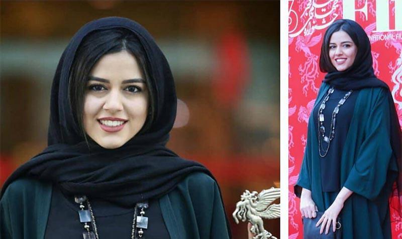 پوشش بهترین بازیگر زن دیشب در جشنواره فجر + عکس