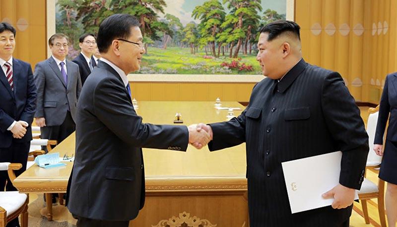 رهبر کره شمالی در دفتر یادبود اجلاس سران چه نوشت؟ + عکس
