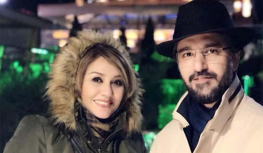 مجری معروف تلویزیون و همسر دومش + عکس