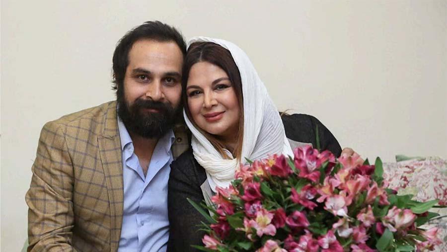 جشن تولد «شهره سلطانی» با حضور همسرش + عکس