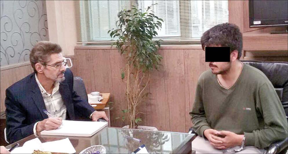 گفتگوی تکاندهنده با قاتل دانش آموز ۱۰ ساله مشهدی+تصاویر