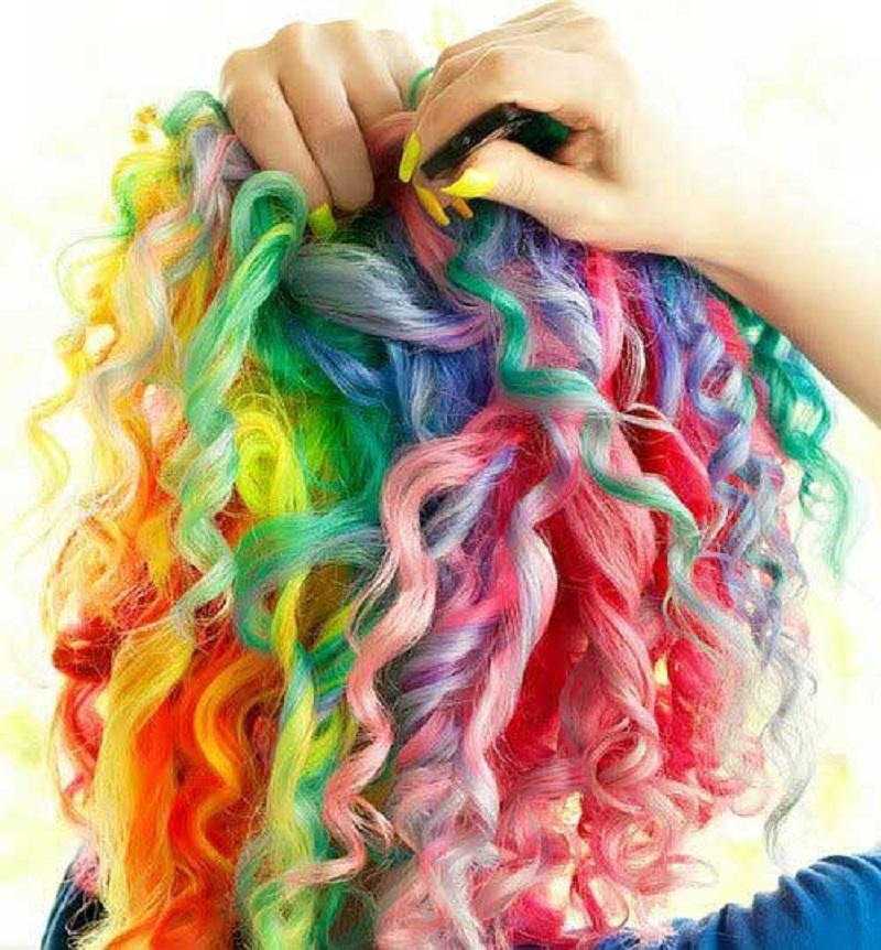 رنگ موهای حیرت انگیز و خلاقانه از جهان طبیعی