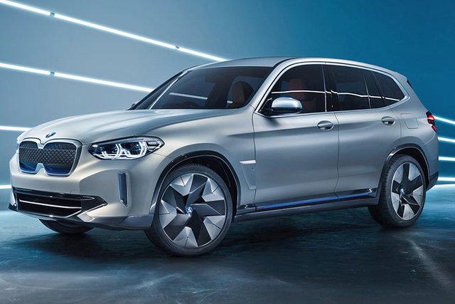 خودروی مفهومی تمام برقی BMW رونمایی شد + عکس
