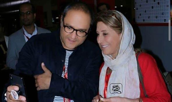 سلفی جذاب رامبد جوان و با خانم بازیگر! + عکس