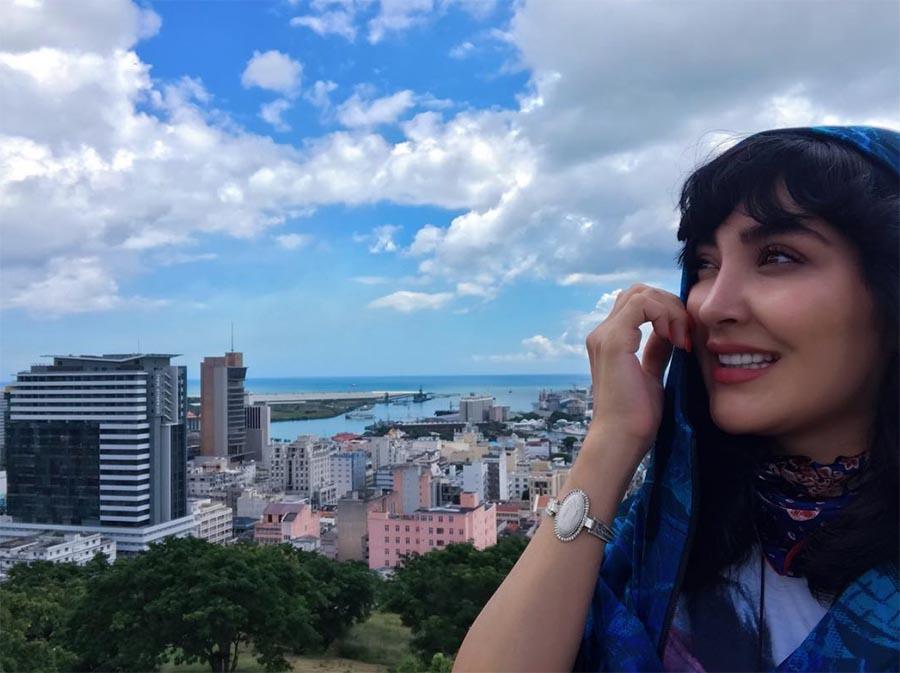 تیپ «مریم معصومی» در خارج از کشور + عکس