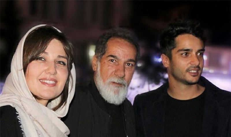 بازیگر فیلم «لاتاری» در کنار پدر و همسر خارجی اش + عکس