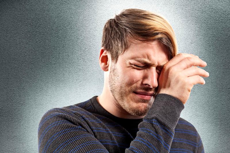 هورمونی که مانع گریه مردان می شود