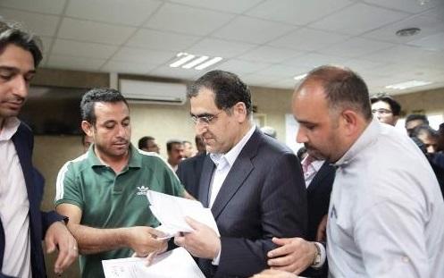 افتتاح  مرکز جامع خدمات سلامت شبانه روزی دارخوین