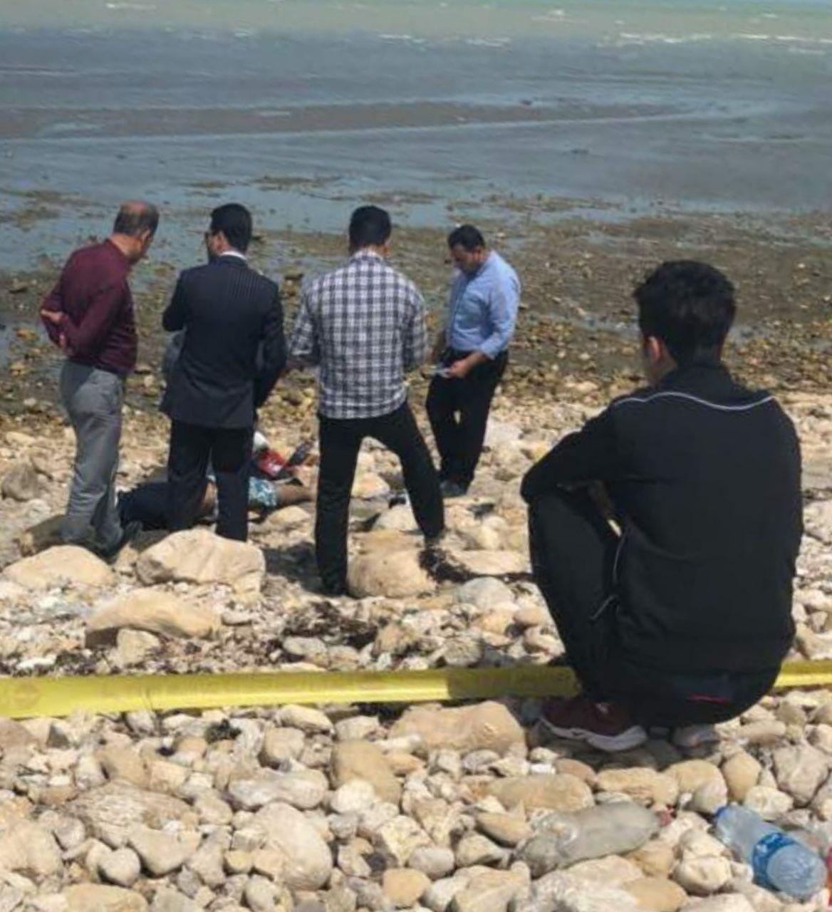 پیدا شدن جنازه در ساحل بوشهر + عکس