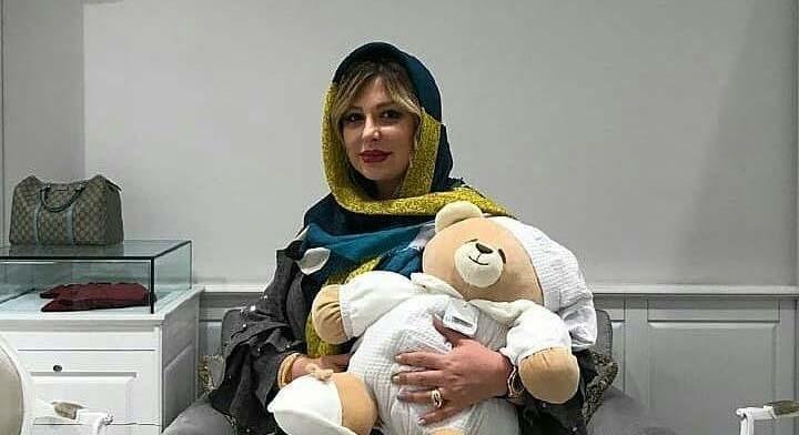 نیوشا ضیغمی در روزهای پایانی بارداری + عکس