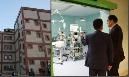 افتتاح پیشرفته ترین مرکز جراحی قلب جنوب غرب کشور
