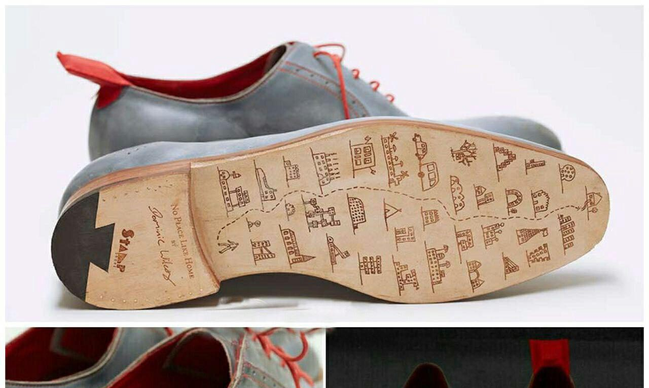 کفشهایی که شما را به آدرس مورد نظرتان میرسانند! + عکس