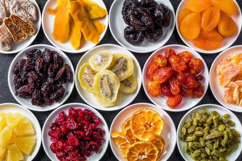 ۹ میوه خشک برای کنترل بهتر وزن