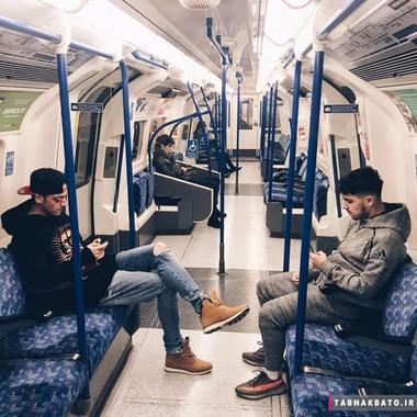 افراد مشهوری که اتوبوس و مترو سوار می شوند + عکس