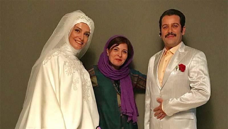 «الیکا عبدالرزاقی» در لباس عروس! + عکس