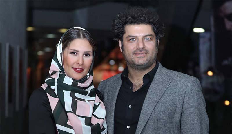 تیپ عجیب «سام درخشانی» به همراه همسرش! + عکس