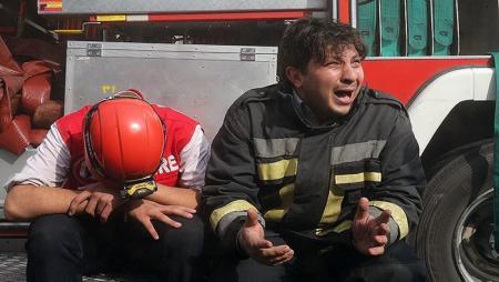 قالیباف: ۲۰ آتش نشان به شهادت رسیدند