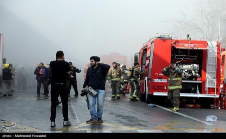 آتشسوزی دوباره در تهران؛ نزدیکی سفارت روسیه