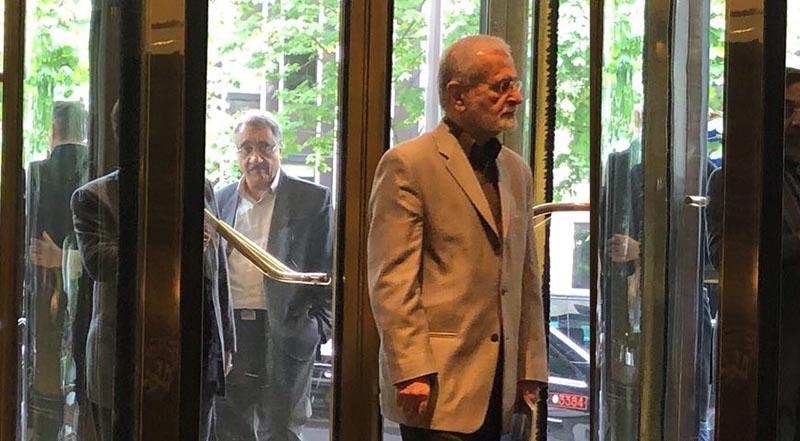 دیپلمات ایرانی که با جان کری دیدار داشت + عکس