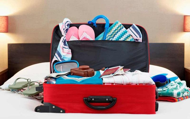 ۱۵ روش هوشمندانه برای بستن چمدان سفر