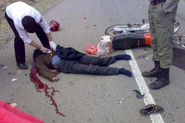 سهم  موتورسواران از مرگ و میر حوادث رانندگی در تهران