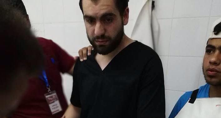 صحنهای دردناک که پزشک فلسطینی را در بهت فرو برد + عکس
