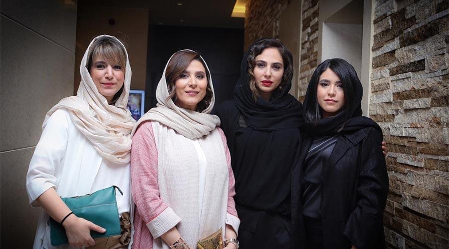 سحر دولتشاهی و خواهرش دیشب در یک مهمانی خصوصی! + عکس