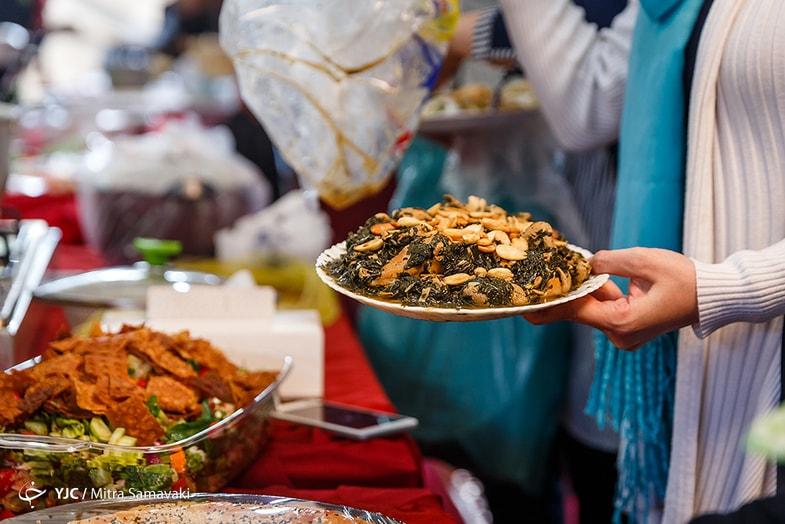 جشنواره غذای ملل دانشگاه تهران + عکس