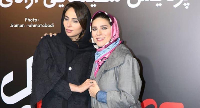 تیپ «سحر دولتشاهی» در مراسم اکران یک فیلم + عکس