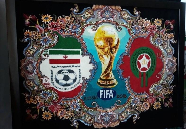 رونمایی از قالیچههای تیم ملی ایران در جام جهانی + تصاویر