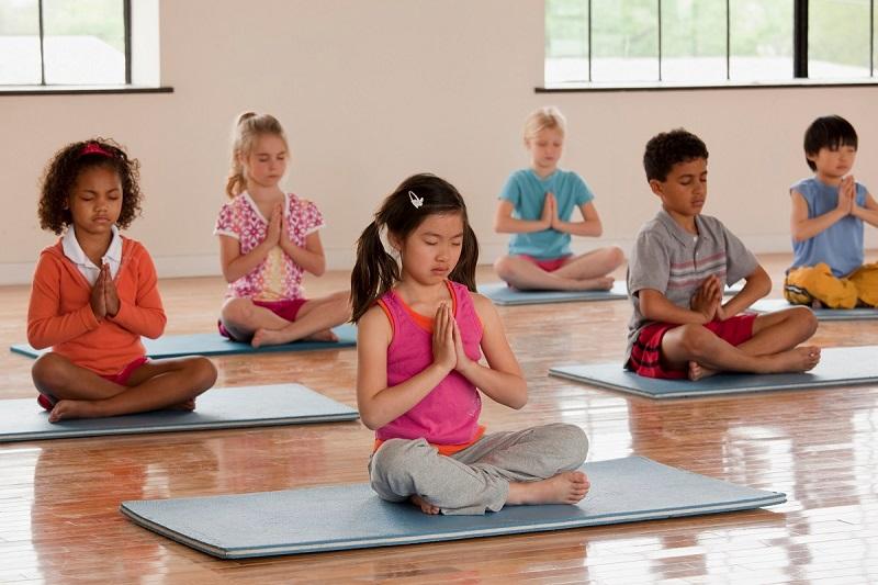 ورزش یوگا برای کودکان، روش انجام