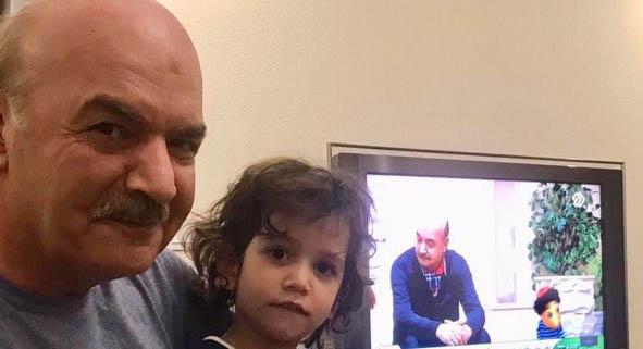 دختر مهناز افشار در آغوش آقای مجری! + عکس