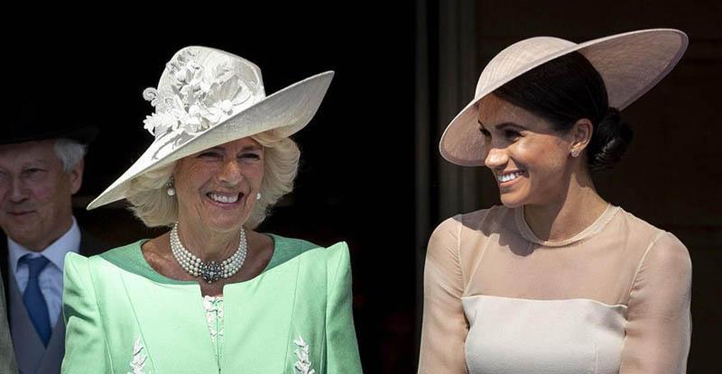 عروس جدید خانواده سلطنتی بریتانیا در اولین مهمانی + عکس