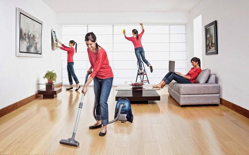 ۸ ترفند برای داشتن خانهای عاری از غبار