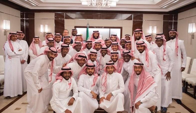 اولین تصویر رسمی از بن سلمان پس از غیبتی طولانی