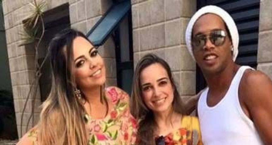 ازدواج جنجالی فوتبالیست مشهور با 2 زن! + تصاویر