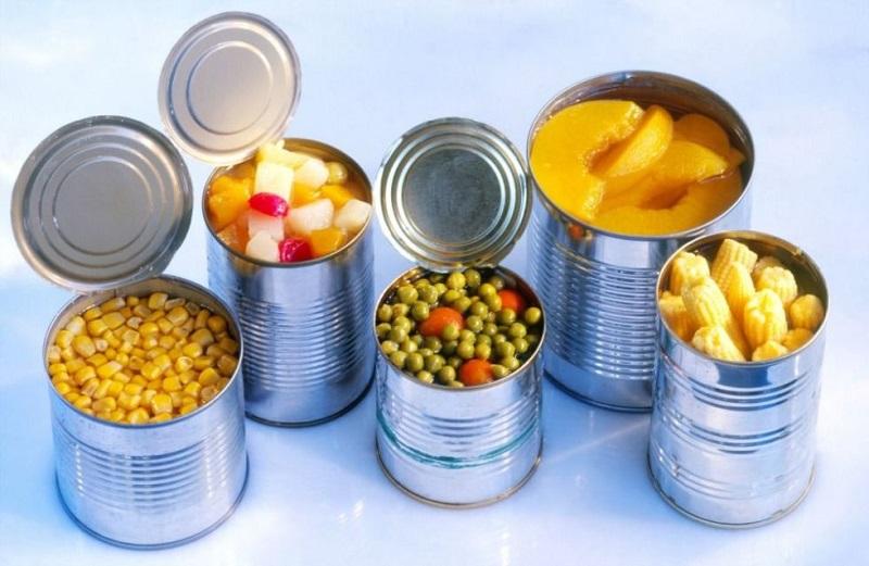 بایدها و نبایدهای استفاده از غذاهای کنسروی