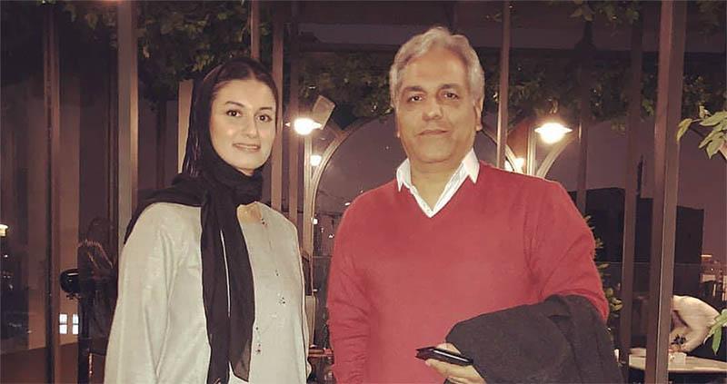 مهران مدیری و خانم بازیگر در یک کافی شاپ! + عکس