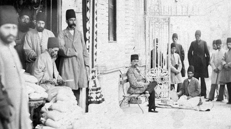 شمارش مالیات در حضور ناصرالدین شاه! + عکس
