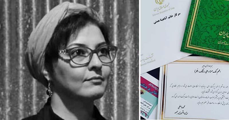 خانم بازیگر دعوت رئیس جمهور را رد کرد + عکس