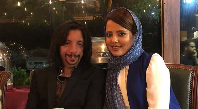 زن و شوهر جنجالی ماه عسل در یک رستوران! + عکس