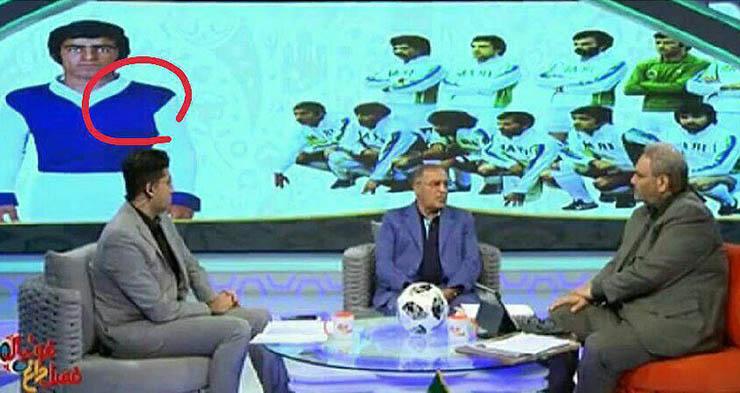سانسور پیراهن استقلال در شبکه ورزش! + عکس