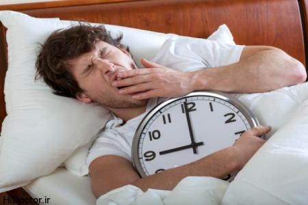 اینفوگرافیک /چــــرا با ایـــنکه  خیلی خستهایــم  خوابمان نمیبرد؟