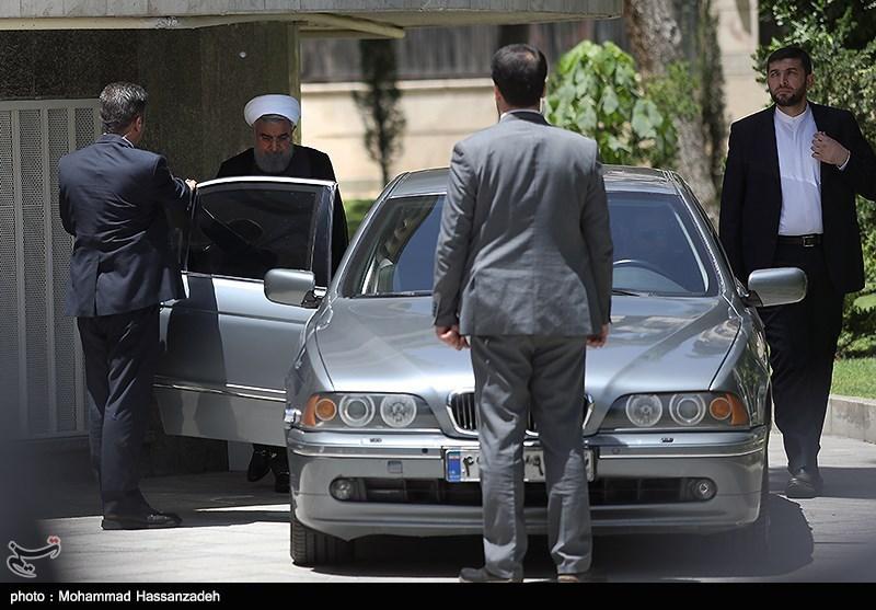 خودروی لاکچری که حسن روحانی سوار میشود + عکس