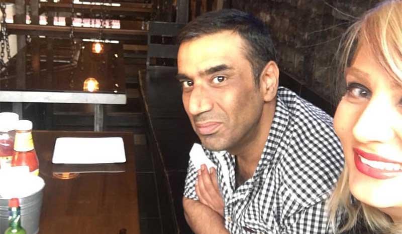 رستوران گردی نصرالله رادش و همسر جدیدش! + عکس