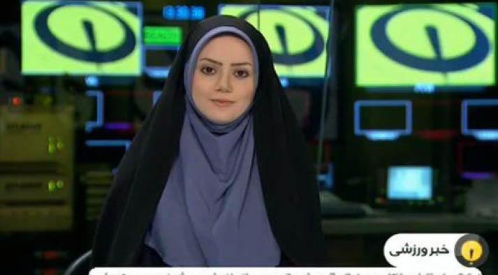 گوینده خبر تلویزیون ازدواج کرد + عکس