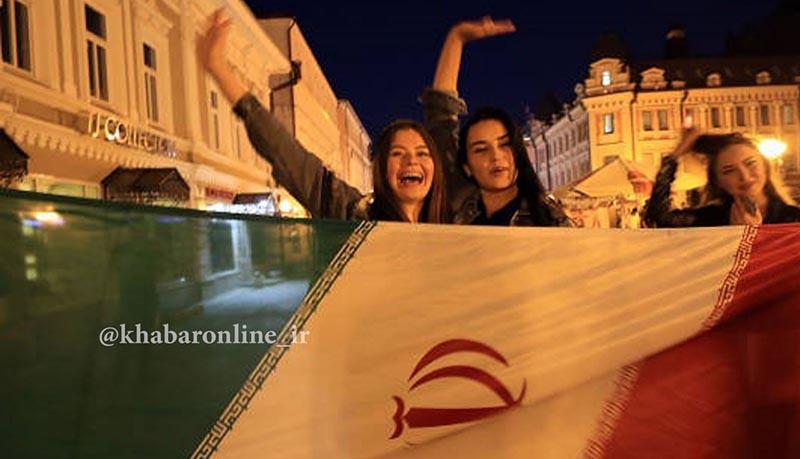 کازان در تسخیر هواداران ایرانی + عکس