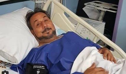 عمو قناد در بیمارستان بستری شد (عکس)