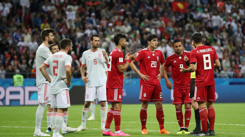 شادی مردم با وجود باخت مقابل اسپانیا! + عکس