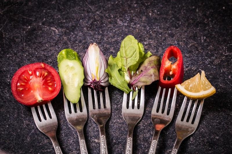 کاهش وزن فوق العاده با تغییراتی ساده در رژیم غذایی